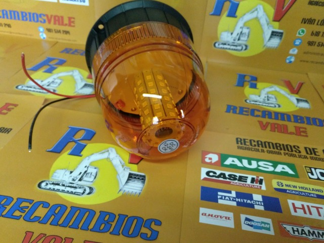 FARO ROTATIVO LED 12-24 TORNILLO - foto 3