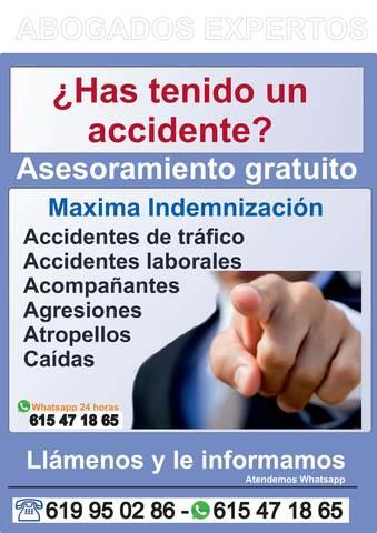 ABOGADO ACCIDENTES TRAFICO MALAGA - foto 1
