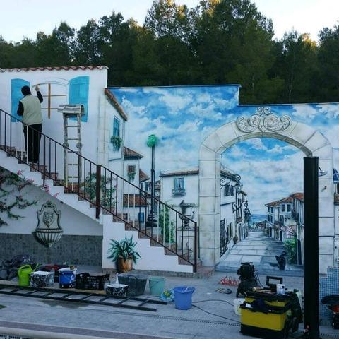 PINTURA MURAL ARTÍSTICA GRAFFITI LOCALES - foto 3