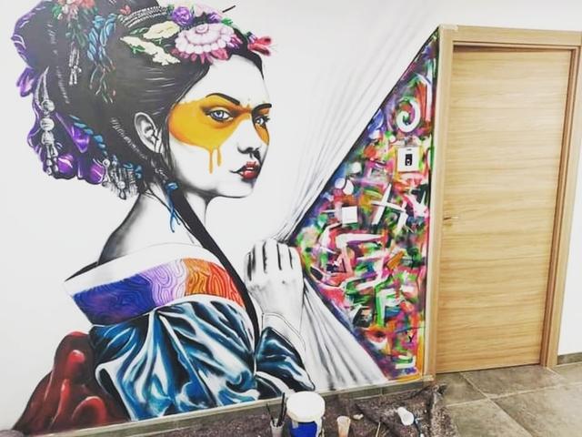 PINTURA MURAL ARTÍSTICA GRAFFITI LOCALES - foto 8
