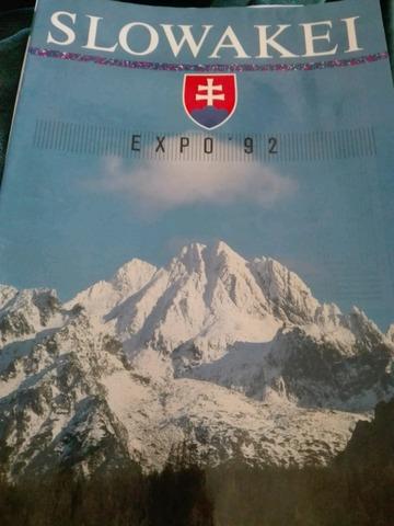 Revista Eslovaquia Expo 92