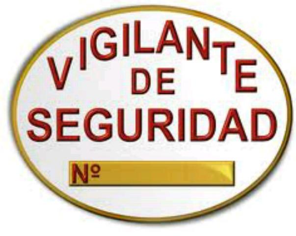 VIGILANTES DE SEGURIDAD.  - foto 1