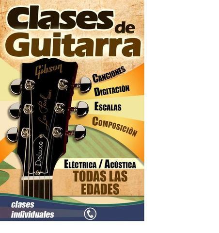 CLASES DE GUITARRA INDIVIDUALES/GRUPO.  - foto 2