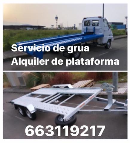 SERVICIO DE GRUA ALQUILER DE PLATAFORMA - foto 1