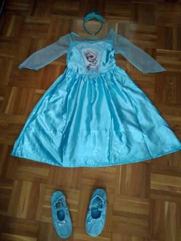 Mil Anuncioscom Vestido Frozen Segunda Mano Y Anuncios
