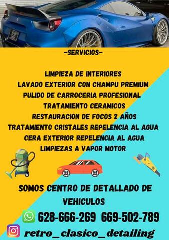 SERVICIOS RETRO CLASICO DETAILING - foto 1