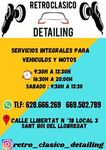 SERVICIOS RETRO CLASICO DETAILING - foto 3