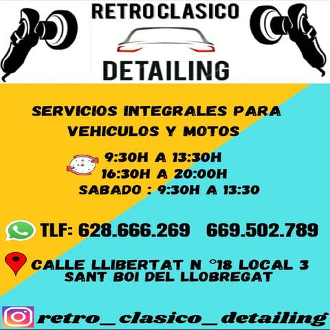 SERVICIOS RETRO CLASICO DETAILING - foto 4