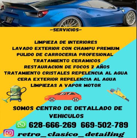SERVICIOS RETRO CLASICO DETAILING - foto 9