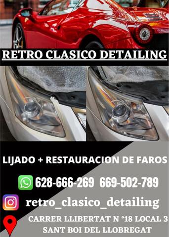 SERVICIOS RETRO CLASICO DETAILING - foto 2