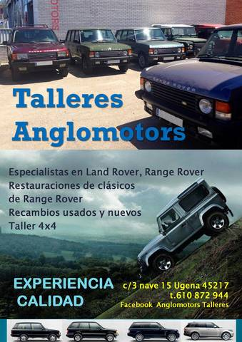 Bearmach Discovery Range Rover Defender esclavo Cilindro ftc5072 ftc3911