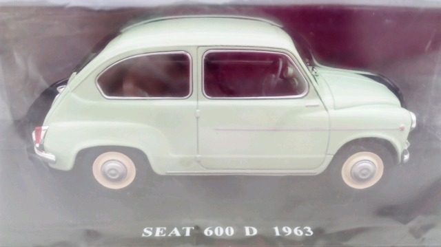Seat 600D Coches Inolvidables