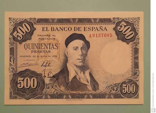 50 Pesetas De 1928 Serie B, Sin Circular