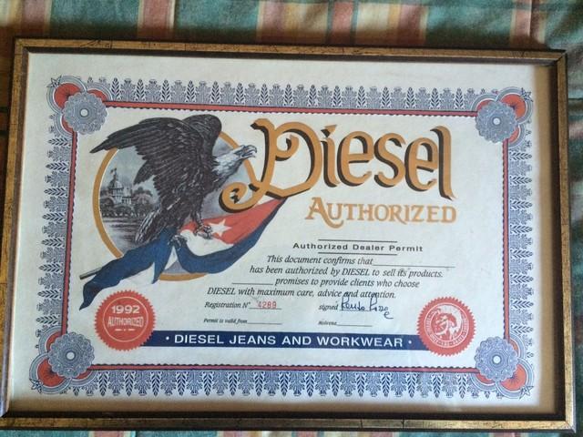 Cuadro Diesel Certificado