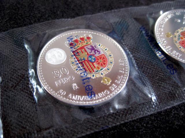 ESPAÑA 30 EUROS PLATA AÑO 2018 - foto 1