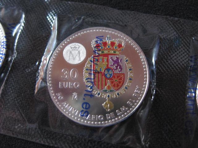 ESPAÑA 30 EUROS PLATA AÑO 2018 - foto 4