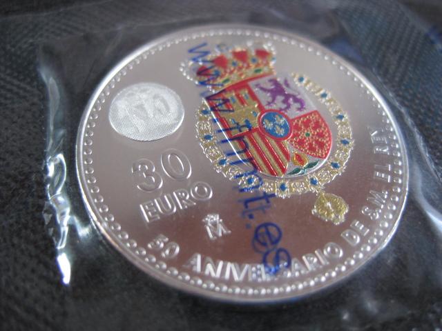 ESPAÑA 30 EUROS PLATA AÑO 2018 - foto 5