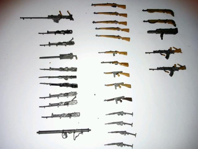 Pistola Norinco 1994 Agostini Armas de fuego miniatura de plomo