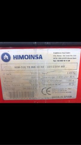 GUPO ELECTRÓGENO HIMOINSA HIW-200 T5 INS - foto 5
