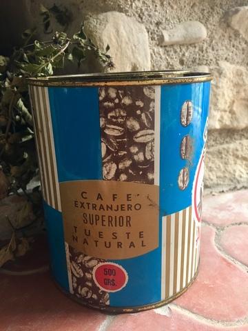 Latas De Café Antiguas