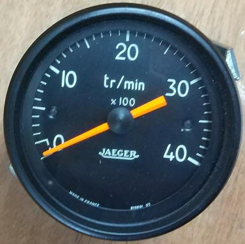 CUENTARPM ELECTRÓNICO JAEGER 4000 RPM - foto 1