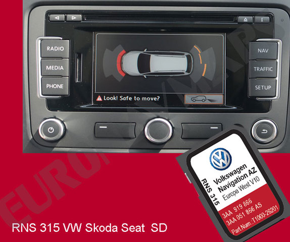 MIL ANUNCIOS COM - RNS 315 VW Skoda Seat SD V11 AZ 2019