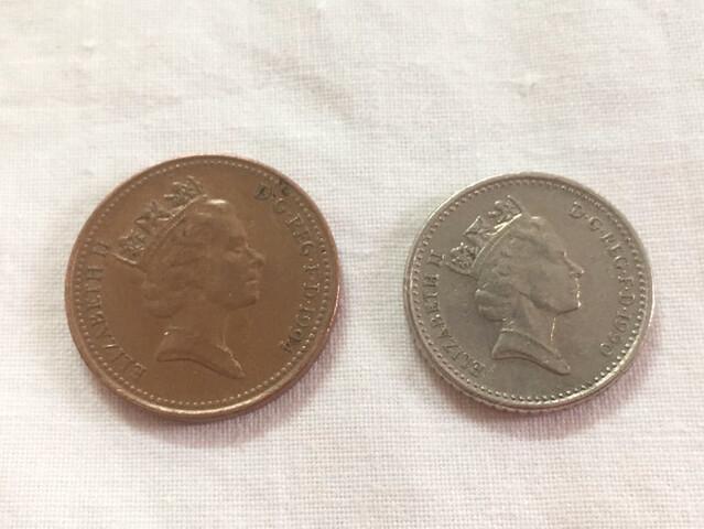 2 Monedas Inglaterra