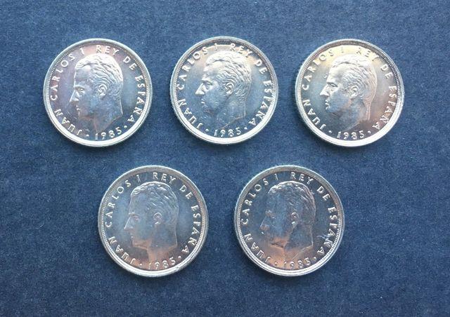 Monedas De 10 Pesetas De 1985 S/C Arras