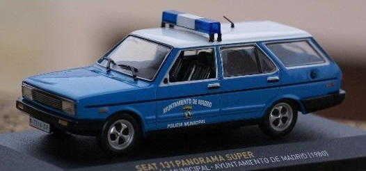 Seat 131 Panorama Super Policia Municipa