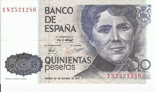 Billete De 500 Pesetas