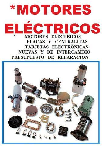 * MOTORES ELÉCTRICOS DE CARRETILLAS - foto 1
