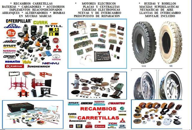 * RUEDAS DE CARRETILLAS ELEVADORAS - foto 3
