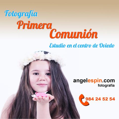 FOTOGRAFÍA PRIMERA COMUNIÓN EN OVIEDO - foto 1
