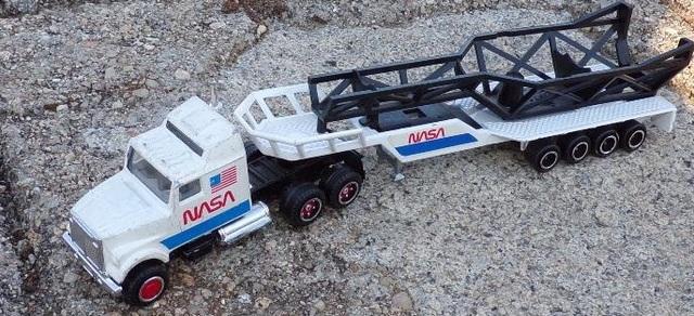 Camion De La Nasa Escala 1:87 De Majoret