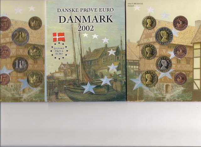 Dinamarca, Prototipos De Euros Del 2002