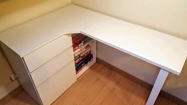 Mesa Despacho Ikea Blanca.Vendo Escritorio Tjenis Ikea