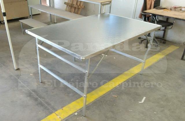 Aluminio Mesas Mesas Plegables Plegables Reforzadas zMSVGqUp
