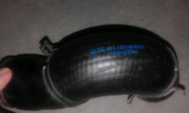 TUBO TURBO VALVULA EGR VOLKSWAGEN - foto 1