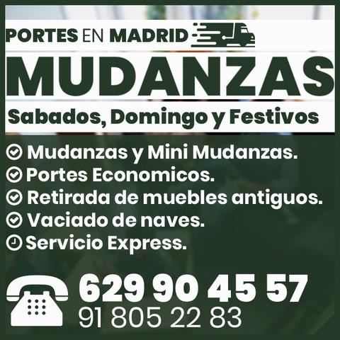 PORTES ECONOMICOS EN MADRID MEJOR PRECIO - foto 1