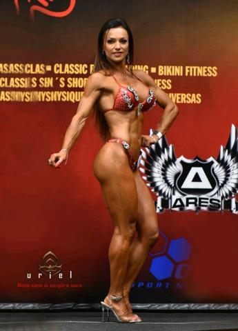 dieta para competicion fitness mujer