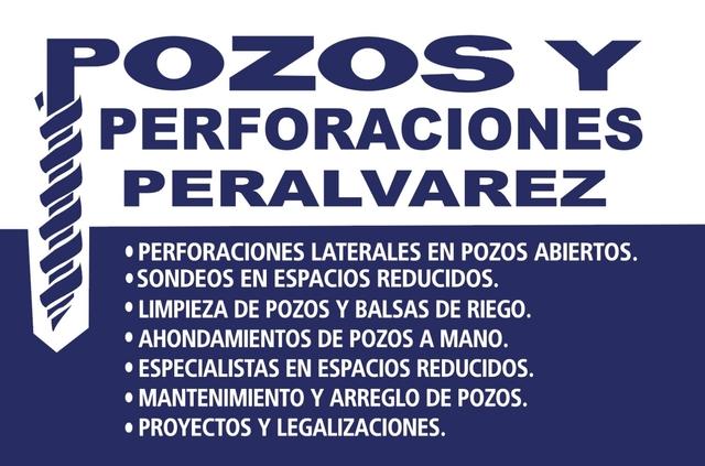 POZOS Y PERFORACIONES PERÁLVAREZ - foto 1