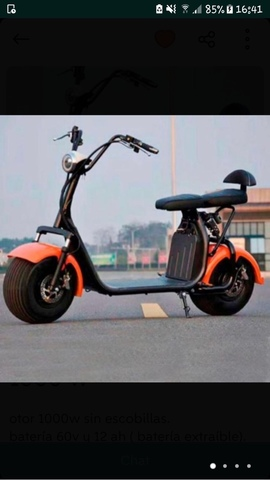 HARLEY CITYCOCO BATERIA EXTRAIBLE 1000 W - foto 1