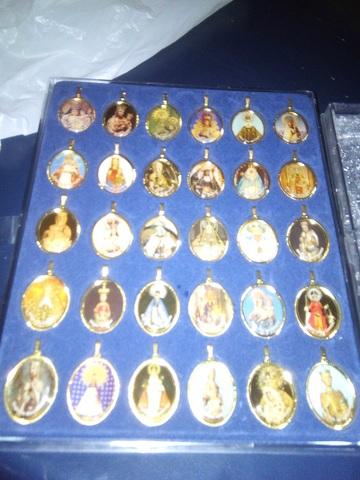 Colección Medallas De La Virgen
