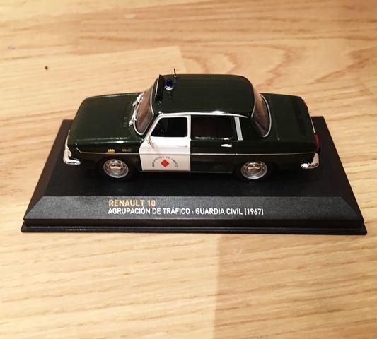Renault 10 Guardia Civil!!!
