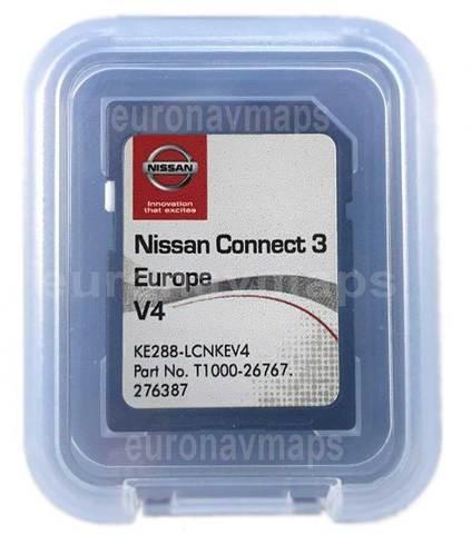 Nissan Connect 1 V9 LCN1 Tarjeta SD mapa de navegación de mapas Reino Unido y Europa 2019-2020