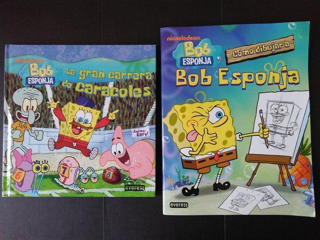 Mil Anuncios Com Lote 2 Libros De Bob Esponja