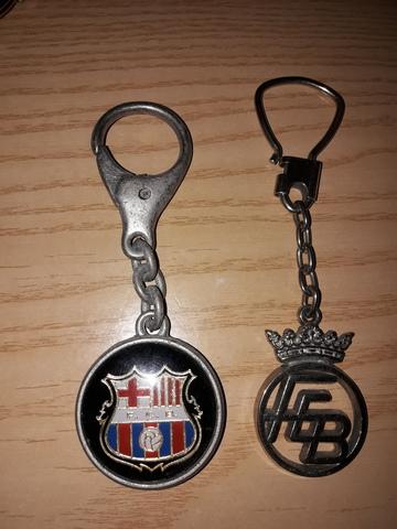 Llaveros Antiguos Del  F.C Barcelona