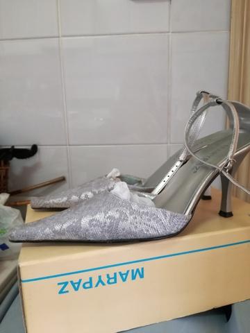 Fiesta Y com Anuncios Anuncios Mil Segunda Mano Plateadas Zapatos IE29HD