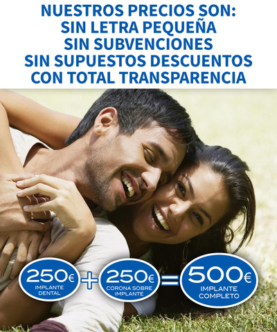 OFERTA : IMPLANTE DENTAL 250 EURO OFERTA - foto 1