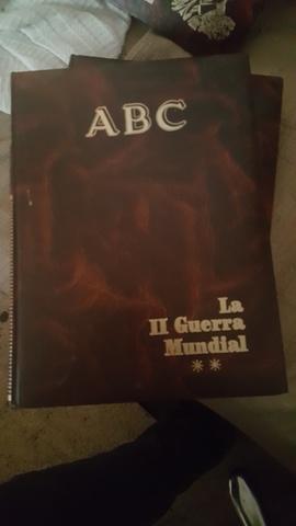 LA II GUERRA MUNDIAL ABC  DOS TOMOS segunda mano  Sevilla